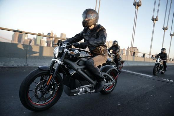 Электробайк Harley-Davidson livewire