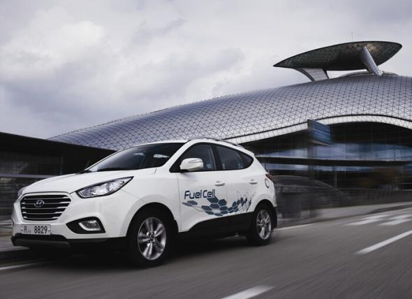 гибрид Hyundai ix35 Fuel Cell