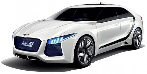 представительский Blue2 от Hyundai