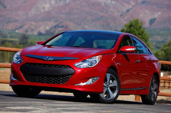 Гибрид Hyundai Sonata