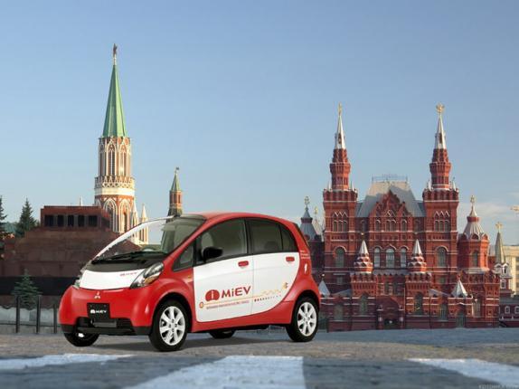 Mitsubishi i-MIEV в Москве