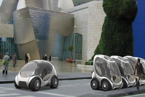 Электромобиль  Hiriko решит проблемы парковки