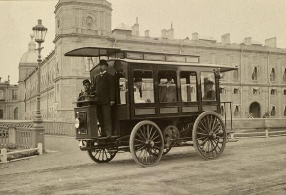 Первый русский электромобиль