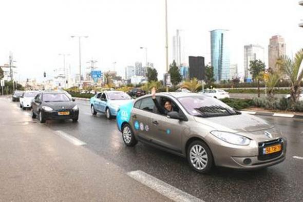 В Израиле внедряют электромобили