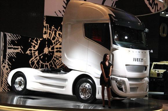 Электрофура Iveco Glider