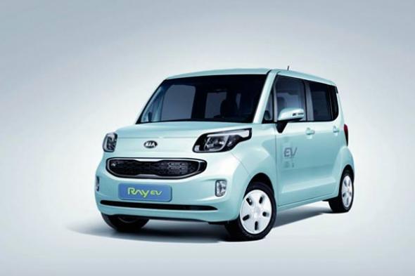 Kia Ray EV электромобиль