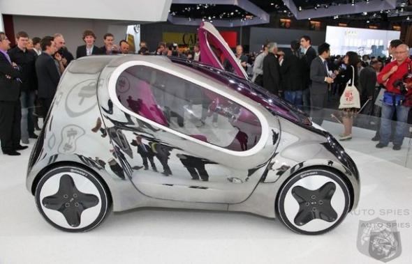 Электромобиль Kia POP