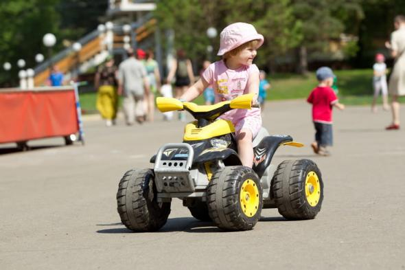 Выбор детского автомобиля