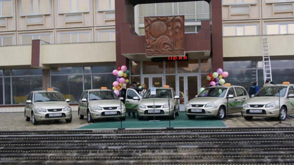 Электромобиль в Кисловодске