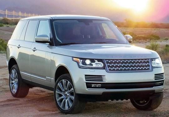 электрический внедорожник Land Rover