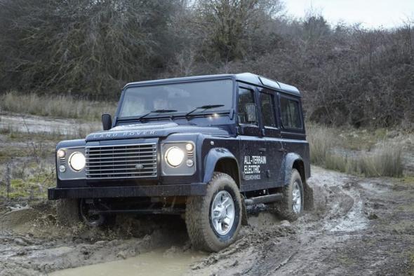 Электромобиль Land Rover Defender