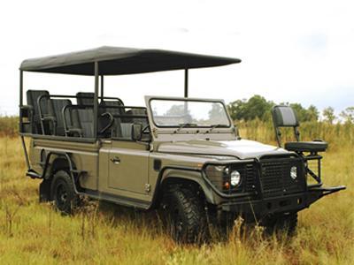 Электромобиль - Land Rover Defener