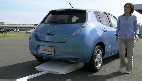 Nissan выпустит «зарядный коврик»