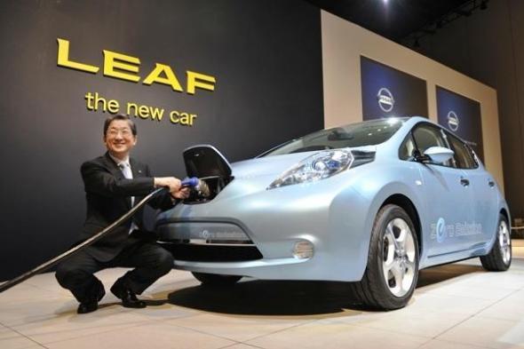 Nissan снизили цену на Nissan Leaf