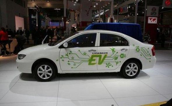 Электромобиль lifan 620 ev