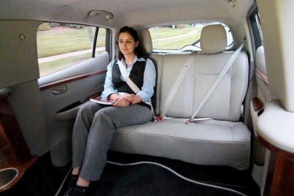 лимузин на основе Nissan LEAF