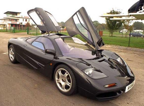 McLaren электрокары