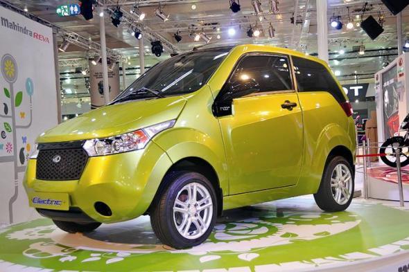 Электромобиль e2o придет на смену REVAi