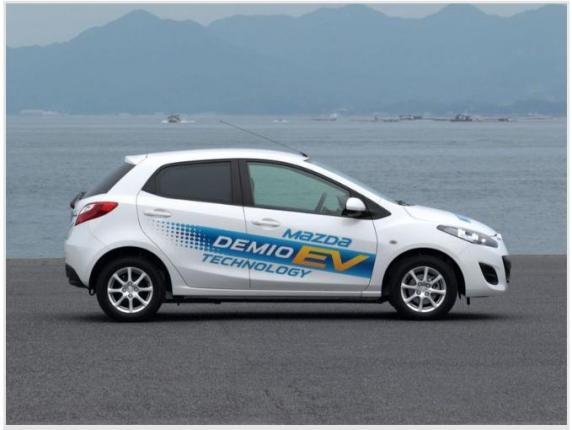 Электромобиль Mazda 2 EV