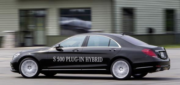 Электромобиль Mercedes S-Class