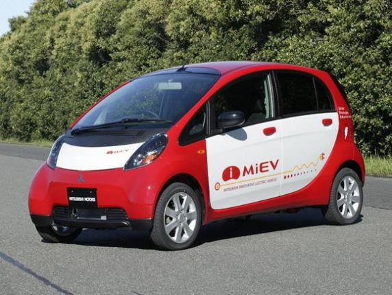 Электромобиль Mitsubishi i-MiEV в России