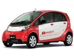 Электромобиль Mitsubishi i-MiEV в США признали самым экологичным автомобилем