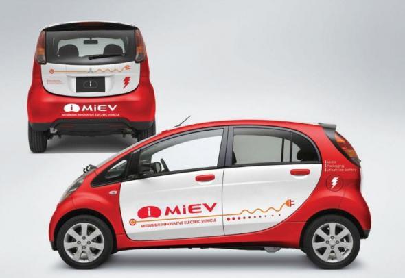 Электромобиль Mitsubishi Motor Motors iMiEV