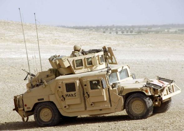 Электромобиль для морской пехоты