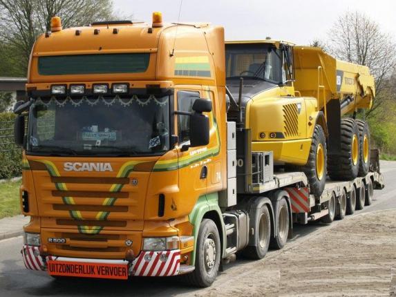 Транспортировка габаритных и негабаритных грузов
