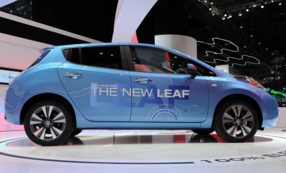 Электромобиль Nissan Leaf 2014 набирает популярность