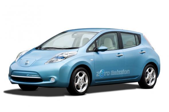 Электромобиль Nissan Leaf проверят русской зимой