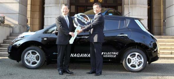 Электромобиль из Японии