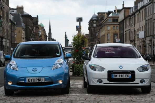Электромобили от Renault-Nissan