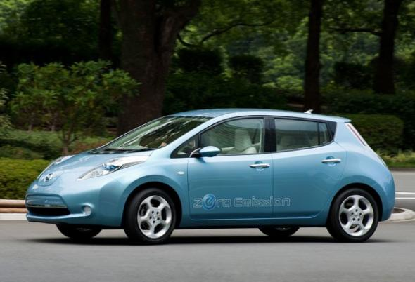 Электромобиль Nissan Leaf станет частью умного дома