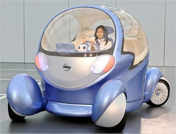 Электромобиль Nissan Pivo