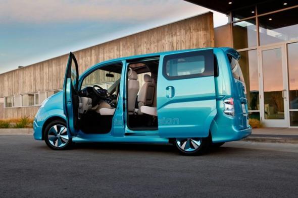 Nissan e-NV200: новый минивен в мире электромобилей