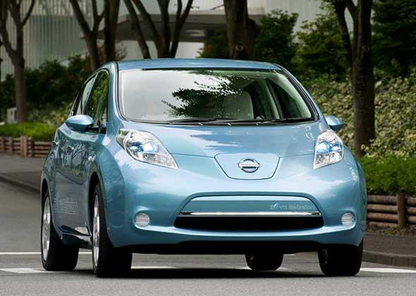 Электромобиль Nissan Leaf можно взять на прокат в Париже и Лондоне