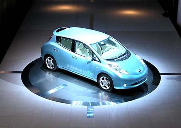 Электромобиль Nissan Leaf в Украине