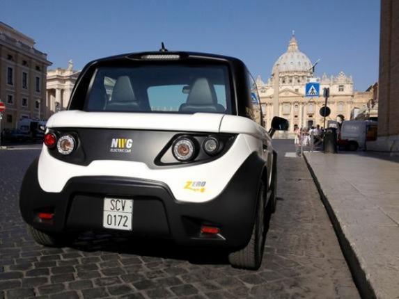 NWG Zero – электромобиль Ватикана