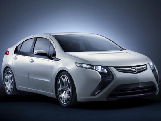 Opel Ampera – самый безопасный электромобиль