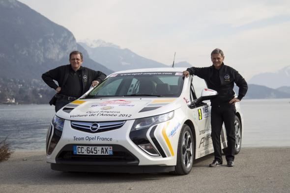 Электромобиль Opel Ampera