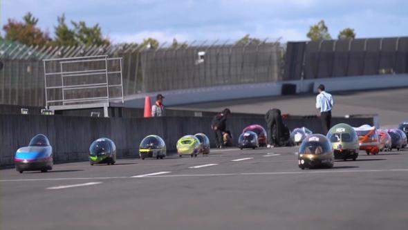 гонки электромобилей Ene-1 Grand Prix