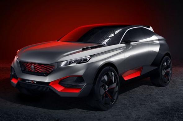 гибрид Peugeot Quartz
