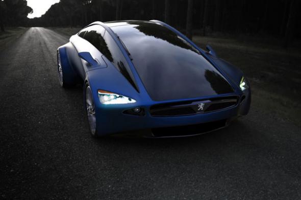 Электромобиль Peugeot Frame