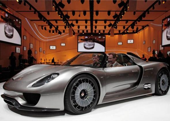 Электромобиль Porsche