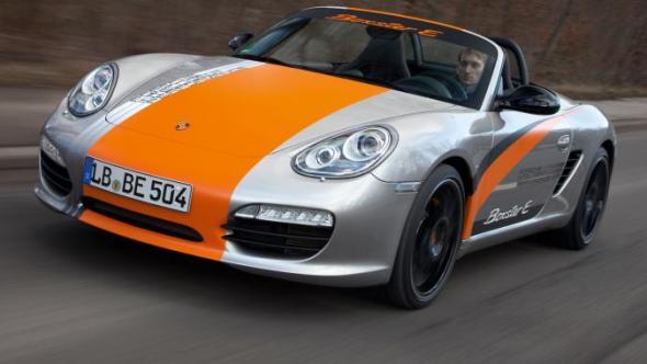 Полностью электрический Porsche