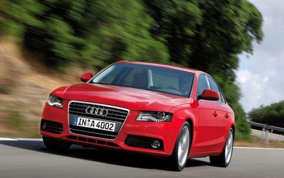 Красная Audi - мечта многих водителей!