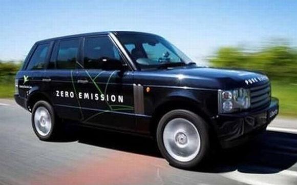 электроджип E-Range Range Rover