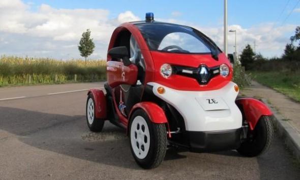 Электромобиль Пожарная версия Renault Twizy