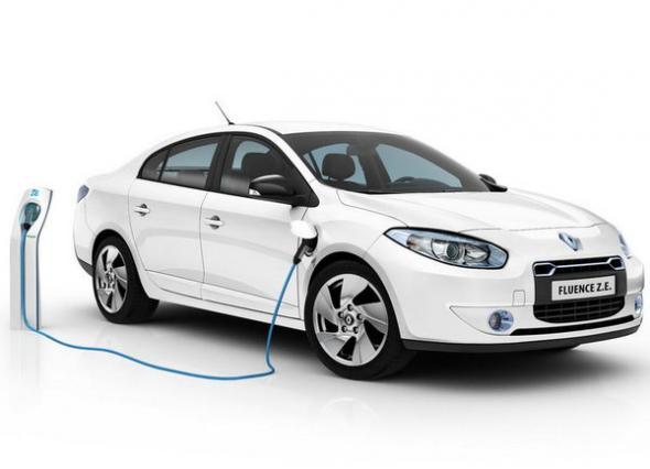 Электромобиль Renault